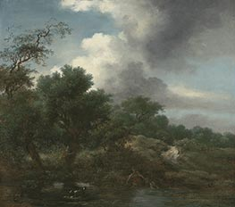 Fragonard | The Pond, c.1761/65 | Giclée Canvas Print