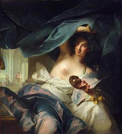 Jean-Marc Nattier | Thalia, Muse of Comedy, 1739 by | Giclée Canvas Print