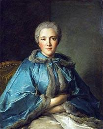 Jean-Marc Nattier | The Comtesse de Tillieres | Giclée Canvas Print
