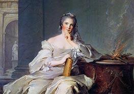 Jean-Marc Nattier | Anne-Henriette de France as the Element of Fire, c.1750/51 | Giclée Canvas Print