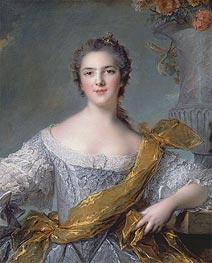 Jean-Marc Nattier | Victoire de France at Fontevrault, 1748 | Giclée Canvas Print