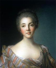 Jean-Marc Nattier | Portrait of Madame Dupin, undated | Giclée Canvas Print