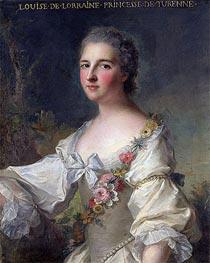 Jean-Marc Nattier | Louise-Henriette-Gabrielle de Lorraine Princess of Turenne and Duchess of Bouillon, 1746 | Giclée Canvas Print