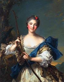 Jean-Marc Nattier | Mademoiselle de Migieu as Diana, 1742 | Giclée Canvas Print