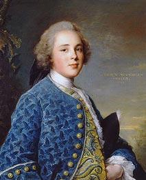 Jean-Marc Nattier | Portrait of Percy Wyndham O'Brien, 1744 | Giclée Canvas Print