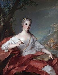 Jean-Marc Nattier | Marie-Geneviève Boudrey as a Muse, 1752 | Giclée Canvas Print