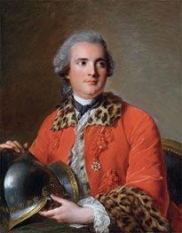 Jean-Marc Nattier | Jean Victor de Rochechouart de Mortemart, 1756 | Giclée Canvas Print