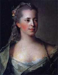 Jean-Marc Nattier | Portrait of Princess Ekaterina Golitsyna, 1757 | Giclée Canvas Print
