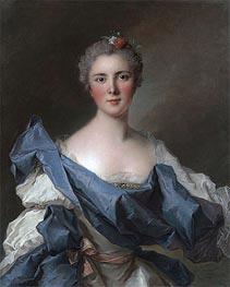 Jean-Marc Nattier | Portrait of the Comtesse d'Andlau, 1743 | Giclée Canvas Print
