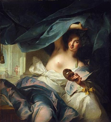 Thalia, Muse of Comedy, 1739 | Jean-Marc Nattier | Painting Reproduction