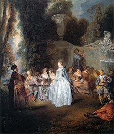 Watteau | The Venitian Festival | Giclée Canvas Print