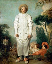 Watteau | Pierrot (Gilles) | Giclée Canvas Print