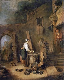 Watteau | The Cook, undated | Giclée Canvas Print