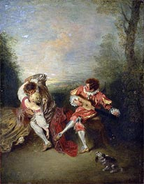 Watteau | The Surprise, undated | Giclée Canvas Print