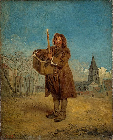 Savoyard with a Marmot, 1716 | Watteau | Painting Reproduction