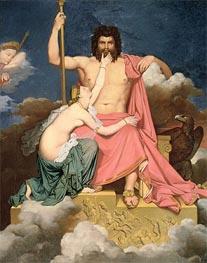 Ingres | Jupiter and Thetis | Giclée Canvas Print