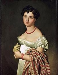 Ingres | Madame Henri-Philippe-Joseph Panckouke | Giclée Canvas Print