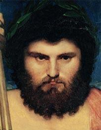 Ingres | Head of Jupiter (Study for Jupiter and Thetis) | Giclée Canvas Print