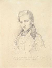 Ingres | Portrait of Etienne Gonin, 1834 | Giclée Paper Print