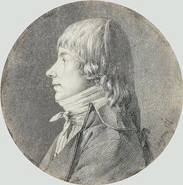 Ingres | Profile Portrait of a Man, undated | Giclée Paper Print