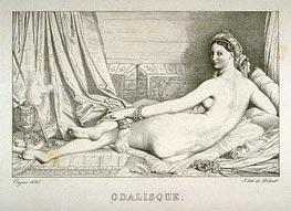 Ingres | Odalisque, 1825 | Giclée Paper Print