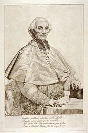 Ingres | Gabriel Cortois de Pressigny, 1816 | Giclée Paper Print