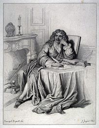 Ingres | Moliere, 1843 | Giclée Paper Print