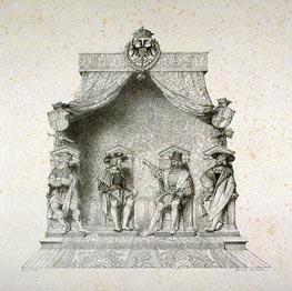 Ingres | Les Quatres Magistrats de Besancon, 1825 | Giclée Paper Print