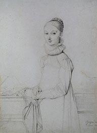Ingres | Portrait of a Young Woman, c.1815 | Giclée Paper Print