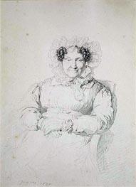 Ingres | Portait of a Lady, 1828 | Giclée Paper Print