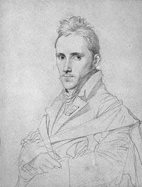 Ingres | The Painter Louis-Nicolas Lemasle, a.1812 | Giclée Paper Print