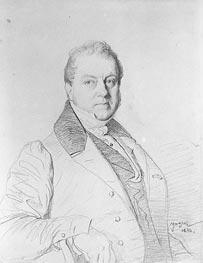 Ingres | Guy-Marie-Emmanuel Marquis Legentil de Paroy, 1833 | Giclée Paper Print