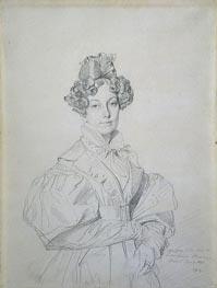 Ingres | Madame Desire Raoul-Rochette, born Antoinette-Claude Houdon, 1830 | Giclée Paper Print