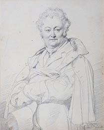Ingres | Portrait of Guillaume Guillon Lethiere, undated | Giclée Paper Print
