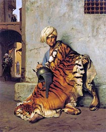 Gerome | Pelt Merchant of Cairo, 1880 | Giclée Canvas Print