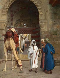 Gerome | Arabs Arguing, 1871 | Giclée Canvas Print