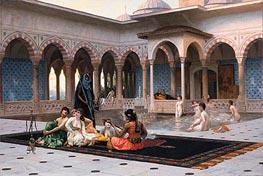 Gerome | The Terrace of the Seraglio | Giclée Canvas Print