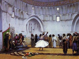 Gerome | Whirling Dervishes | Giclée Canvas Print