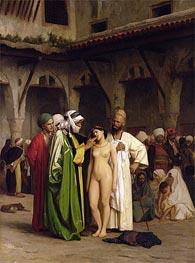 Gerome   The Slave Market, c.1866/67   Giclée Canvas Print