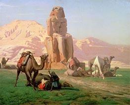 Gerome   The Colossus of Memnon, 1857   Giclée Canvas Print