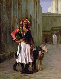 Gerome   Arnaut of Cairo, 1871   Giclée Canvas Print
