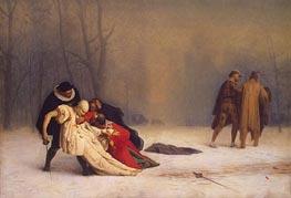 Gerome   Duel after a Masked Ball, 1857   Giclée Canvas Print
