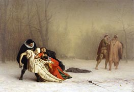 Gerome   The Duel After the Masquerade, c.1857/59   Giclée Canvas Print