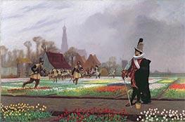 Gerome   The Tulip Folly, 1882   Giclée Canvas Print
