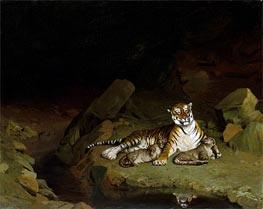 Gerome   Tiger and Cubs, c.1884   Giclée Canvas Print