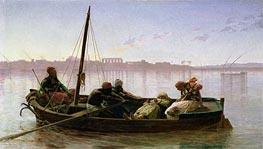Gerome   The Prisoner, 1861   Giclée Canvas Print
