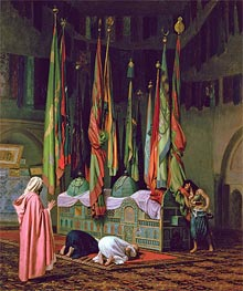 Gerome   The Shrine of Imam Hussein, undated   Giclée Canvas Print