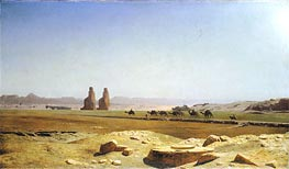Gerome   The Plain of Thebes in Upper Egypt, 1857   Giclée Canvas Print