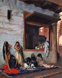 Gerome | The Slave Market, 1871 | Giclée Canvas Print