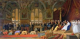 Gerome | The Reception of Siamese Ambassadors by Emperor Napoleon III at the Palace of Fontainebleau, 1861 | Giclée Canvas Print
